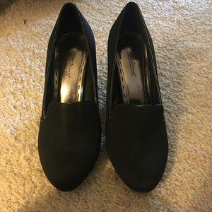 Black Madeline Heels